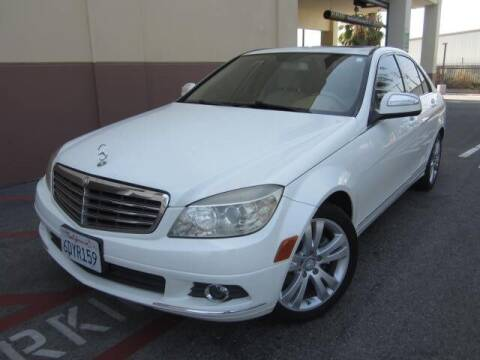 2008 Mercedes-Benz C-Class for sale at PREFERRED MOTOR CARS in Covina CA