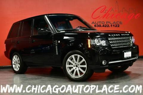 2012 Land Rover Range Rover for sale at Chicago Auto Place in Bensenville IL