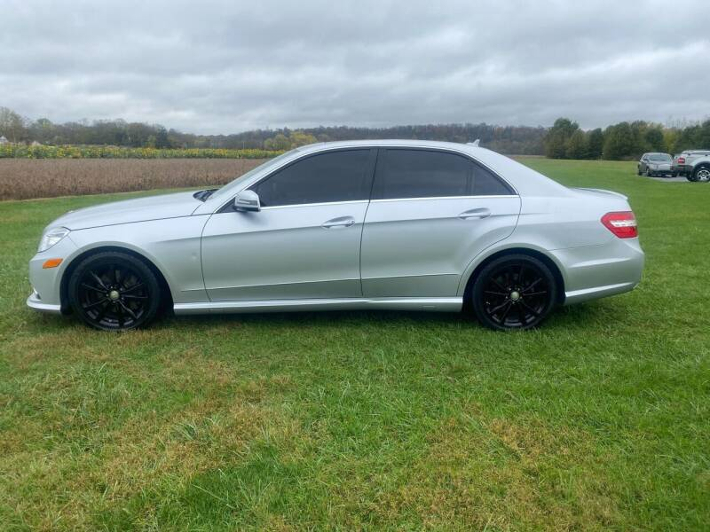 2011 Mercedes-Benz E-Class for sale at Wendell Greene Motors Inc in Hamilton OH