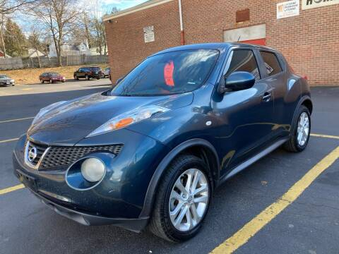 2013 Nissan JUKE for sale at White River Auto Sales in New Rochelle NY