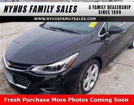 2016 Chevrolet Cruze for sale at Nyhus Family Sales in Perham MN