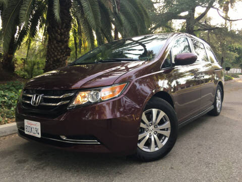 2015 Honda Odyssey for sale at Valley Coach Co Sales & Lsng in Van Nuys CA