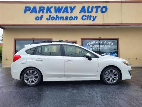 2015 Subaru Impreza for sale at PARKWAY AUTO SALES OF BRISTOL - PARKWAY AUTO JOHNSON CITY in Johnson City TN