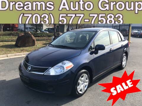 2010 Nissan Versa for sale at Dreams Auto Group LLC in Sterling VA