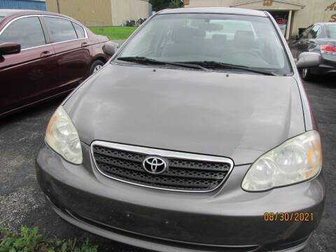 2005 Toyota Corolla for sale at Mid - Way Auto Sales INC in Montgomery NY