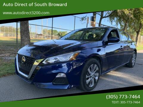 2019 Nissan Altima for sale at Auto Direct of South Broward in Miramar FL