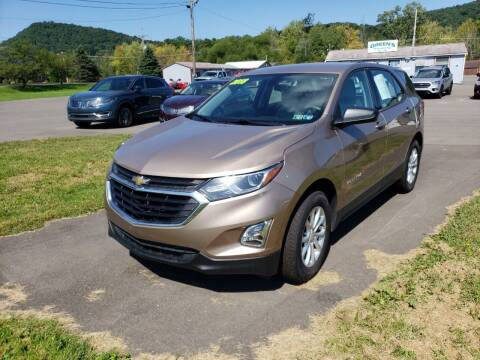 2018 Chevrolet Equinox for sale at Greens Auto Mart Inc. in Wysox PA