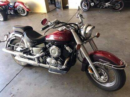 2000 Yamaha V-Star for sale at Auto Deal Line in Alpharetta GA