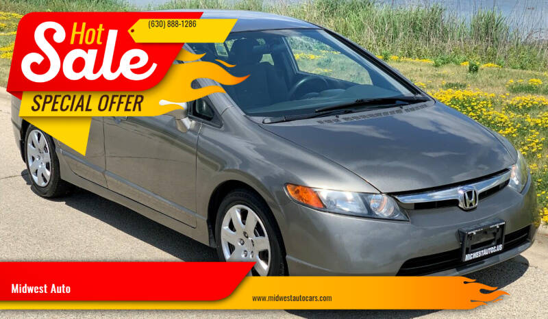 2008 Honda Civic for sale at Midwest Auto in Naperville IL