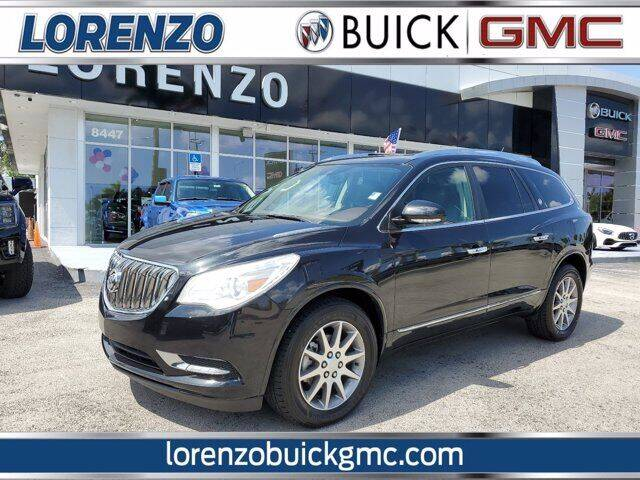 2013 Buick Enclave for sale at Lorenzo Buick GMC in Miami FL