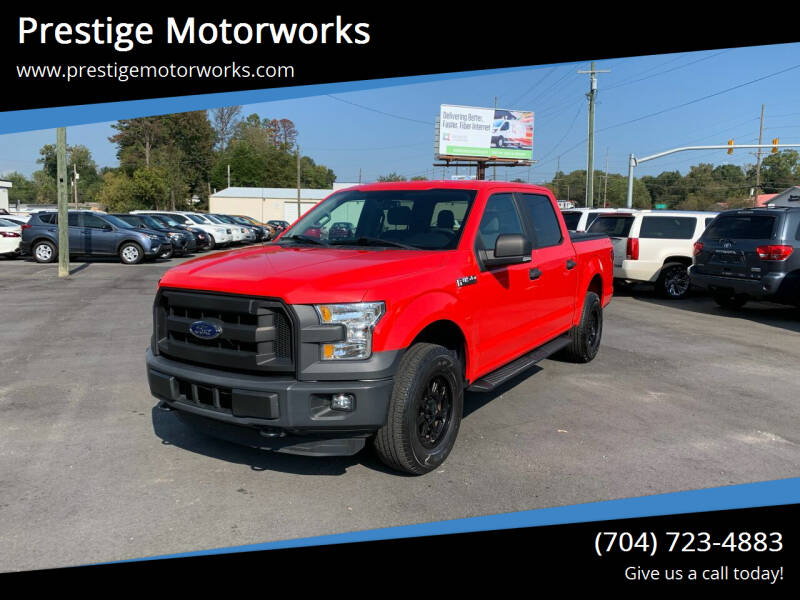 2015 Ford F-150 for sale at Prestige Motorworks in Concord NC