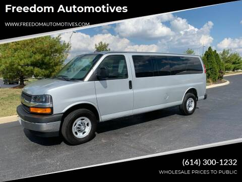 2019 Chevrolet Express Passenger for sale at Freedom Automotives in Grove City OH