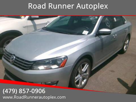 2014 Volkswagen Passat for sale at Road Runner Autoplex in Russellville AR