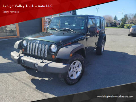2010 Jeep Wrangler Unlimited for sale at Lehigh Valley Truck n Auto LLC. in Schnecksville PA