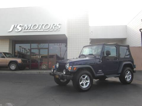 2006 Jeep Wrangler for sale at J'S MOTORS in San Diego CA