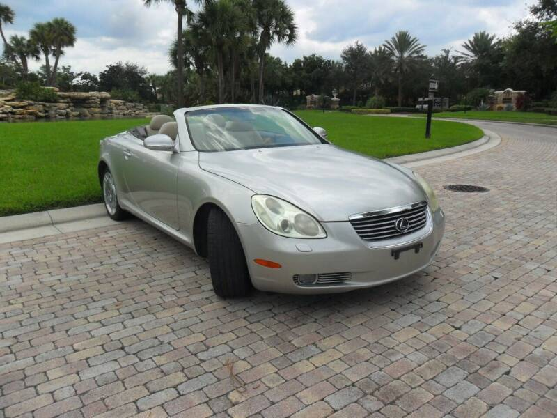 2002 Lexus SC 430 for sale at AUTO HOUSE FLORIDA in Pompano Beach FL