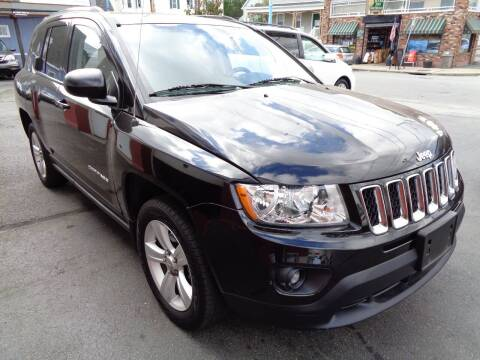 2013 Jeep Compass for sale at Best Choice Auto Sales Inc in New Bedford MA