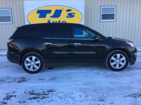 2017 Chevrolet Traverse for sale at TJ's Auto in Wisconsin Rapids WI