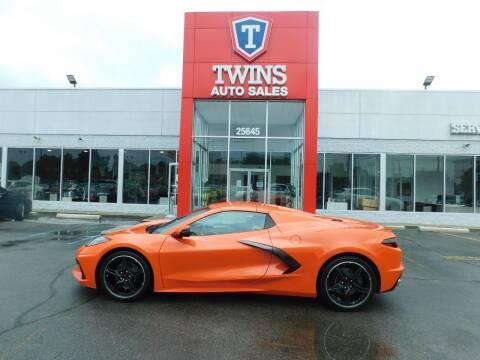 2021 Chevrolet Corvette for sale at Twins Auto Sales Inc Redford 1 in Redford MI