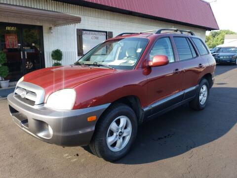 2005 Hyundai Santa Fe for sale at Salem Auto Sales in Salem VA