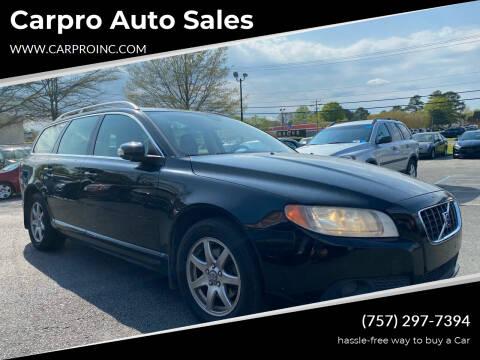 2009 Volvo V70 for sale at Carpro Auto Sales in Chesapeake VA