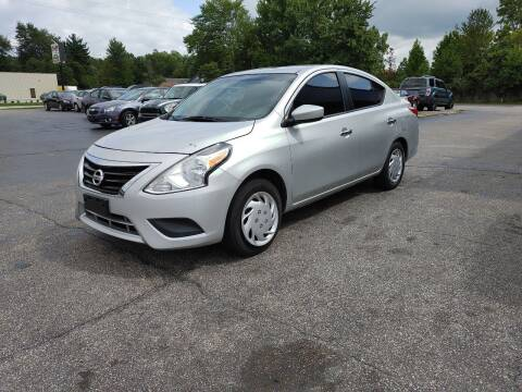 2016 Nissan Versa for sale at Cruisin' Auto Sales in Madison IN