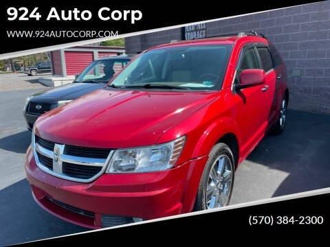 2009 Dodge Journey for sale at 924 Auto Corp in Sheppton PA