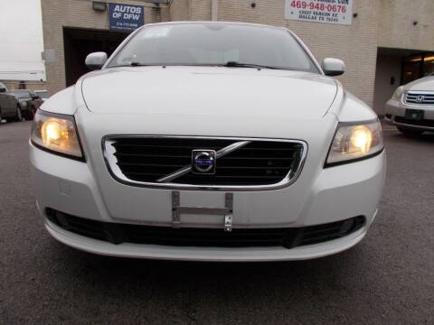 2009 Volvo S40 for sale at ACH AutoHaus in Dallas TX