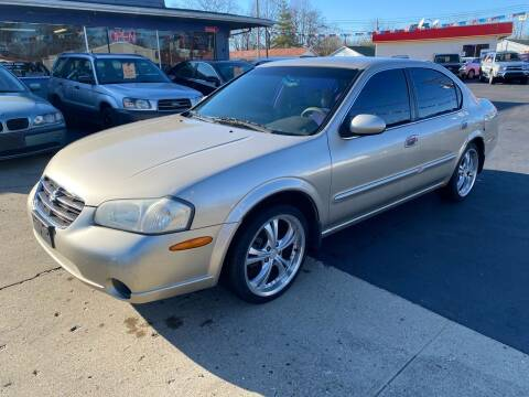 2001 Nissan Maxima for sale at Wise Investments Auto Sales in Sellersburg IN