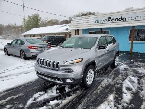 2015 Jeep Cherokee for sale at DrivePanda.com in Dekalb IL