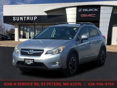 2014 Subaru XV Crosstrek for sale at SUNTRUP BUICK GMC in Saint Peters MO