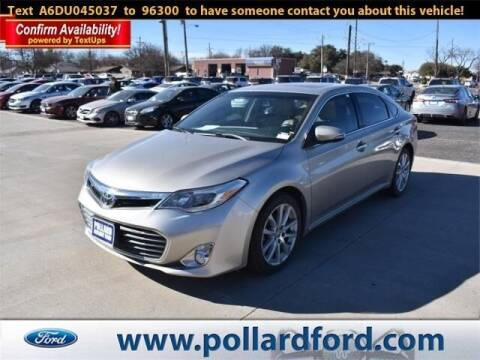 2013 Toyota Avalon for sale at South Plains Autoplex by RANDY BUCHANAN in Lubbock TX