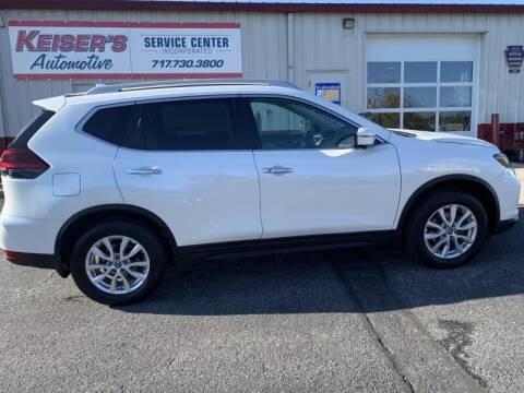 2018 Nissan Rogue for sale at Keisers Automotive in Camp Hill PA
