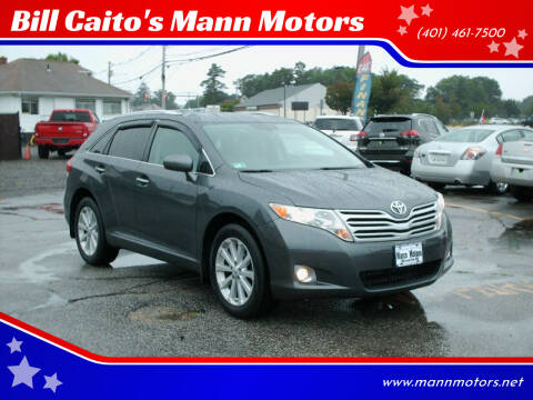2011 Toyota Venza for sale at Bill Caito's Mann Motors in Warwick RI