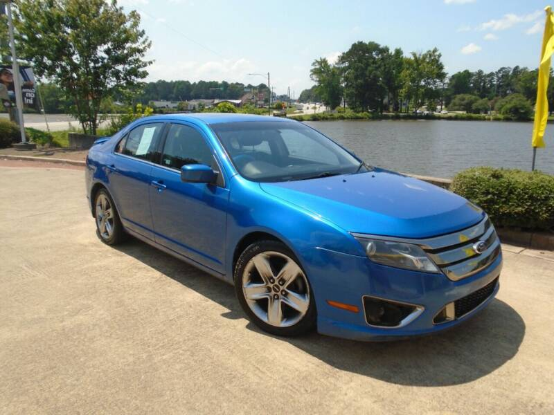 2011 Ford Fusion for sale at Lake Carroll Auto Sales in Carrollton GA