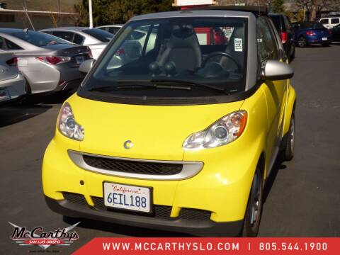 2008 Smart fortwo for sale at McCarthy Wholesale in San Luis Obispo CA