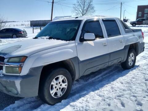 2002 Chevrolet Avalanche for sale at Dealz on Wheelz in Ewing KY
