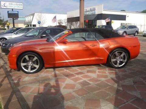 2012 Chevrolet Camaro for sale at CAPITOL AUTO SALES LLC in Baton Rouge LA