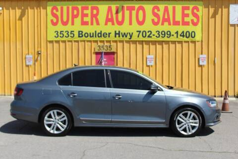 2017 Volkswagen Jetta for sale at Super Auto Sales in Las Vegas NV