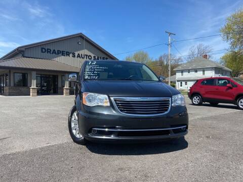 2012 Chrysler Town and Country for sale at Drapers Auto Sales in Peru IN