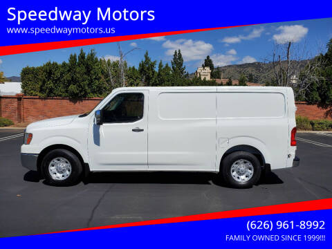 2013 Nissan NV Cargo for sale at Speedway Motors in Glendora CA