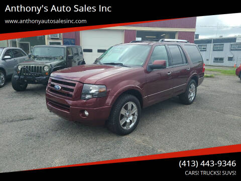 2010 Ford Expedition for sale at Anthony's Auto Sales Inc in Pittsfield MA