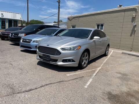 2013 Ford Fusion for sale at Top Gun Auto Sales, LLC in Albuquerque NM