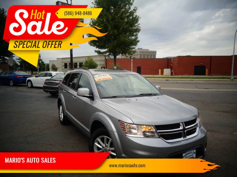 2016 Dodge Journey for sale at MARIO'S AUTO SALES in Mount Clemens MI