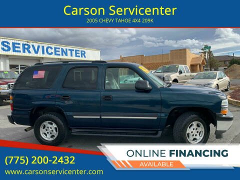 2005 Chevrolet Tahoe for sale at Carson Servicenter in Carson City NV