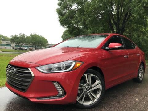 2017 Hyundai Elantra for sale at Powerhouse Automotive in Tampa FL