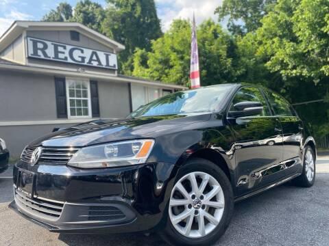 2013 Volkswagen Jetta for sale at Regal Auto Sales in Marietta GA