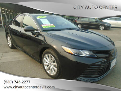 2018 Toyota Camry for sale at City Auto Center in Davis CA