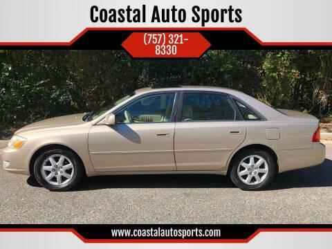 2002 Toyota Avalon for sale at Coastal Auto Sports in Chesapeake VA