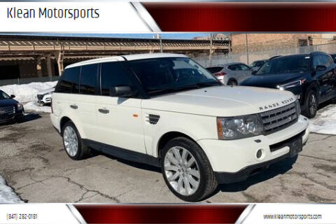 2007 Land Rover Range Rover Sport for sale at Klean Motorsports in Skokie IL